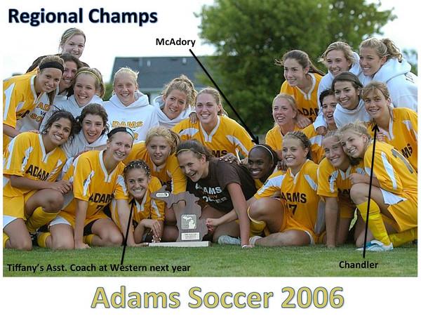 Adams Girls Soccer - History