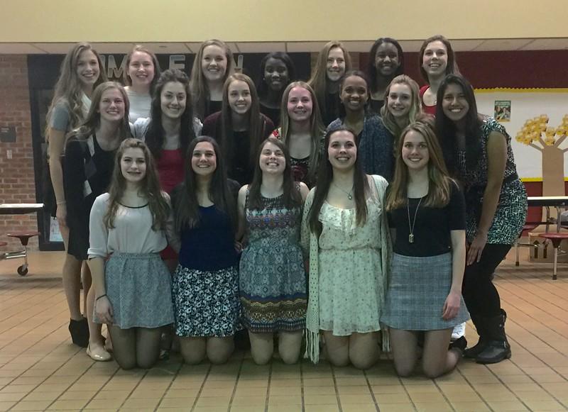 Adams Soccer Varsity Girls 2015
